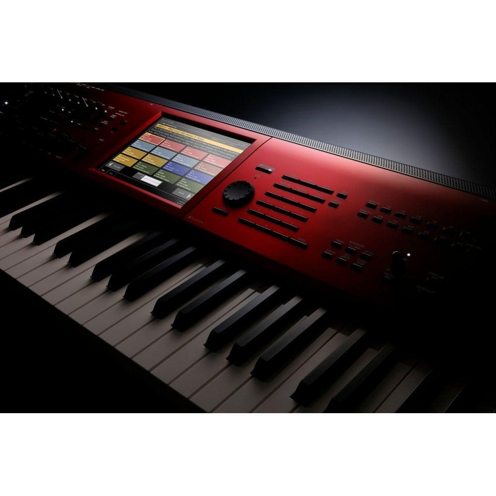 Korg Kronos 2 61SE Music Workstation Red Burst Limited Edition