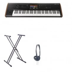 Korg KRONOS2-73 Workstation Synth Bundle