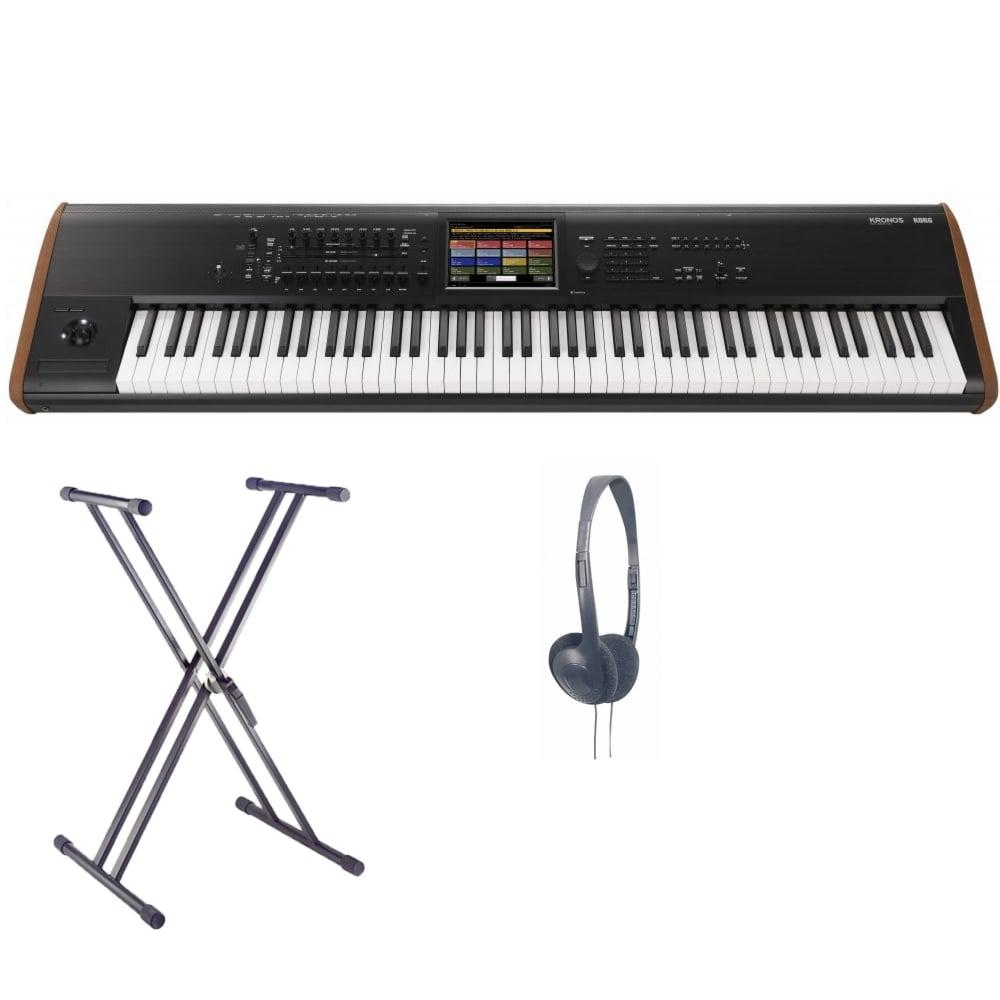 Korg KRONOS2-88 Music Workstation Bundle | Black