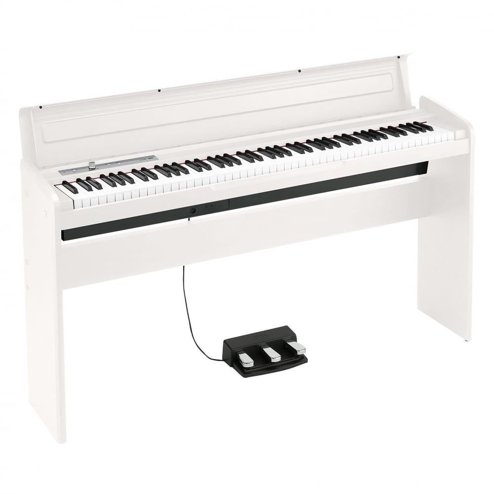 korg lp 180wh slimline digital piano white. Black Bedroom Furniture Sets. Home Design Ideas