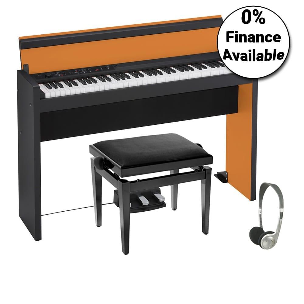 korg lp 380 73 pro bundle orange black from rimmers music. Black Bedroom Furniture Sets. Home Design Ideas