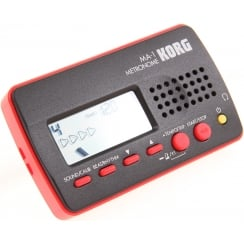 Korg MA1 Multi Function Digital Metronome Black and Red