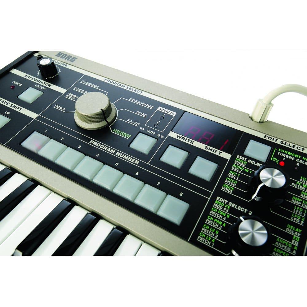 Korg microKORG 37-Mini Key Synthesizer and Vocoder