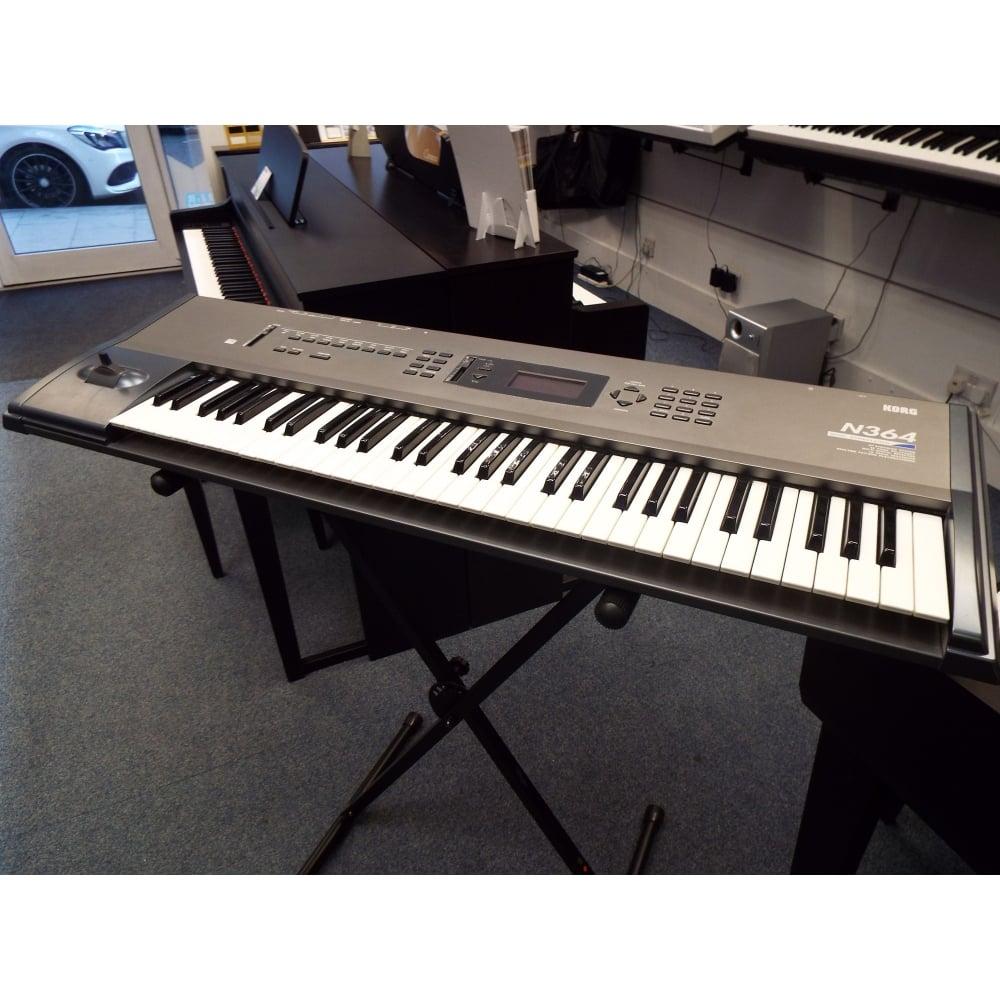 korg n364 workstation keyboard used. Black Bedroom Furniture Sets. Home Design Ideas
