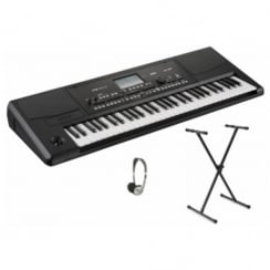KORG PA300 Professional Arranger Keyboard Bundle