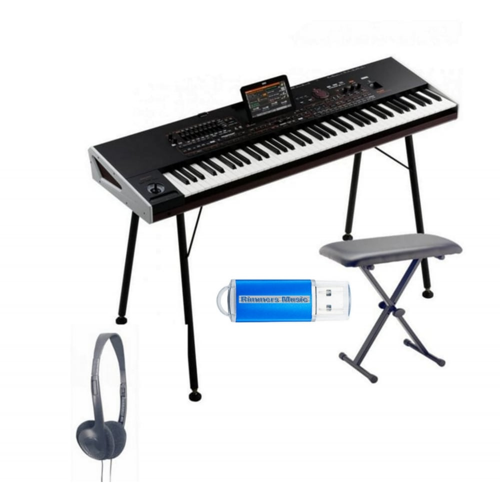 KORG Pa4X 76 Professional Arranger Keyboard Bundle
