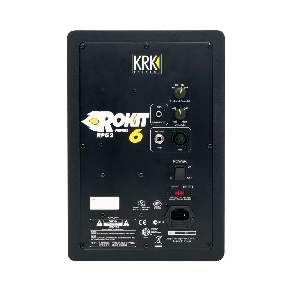 Collegamento DAC (Schiit Fulla 2 - Focusrite 2i2) per casse KRK  Krk-rokit-rp6-g3-uk-monitor-speaker-monitor-stand-bundle-p37065-60166_image