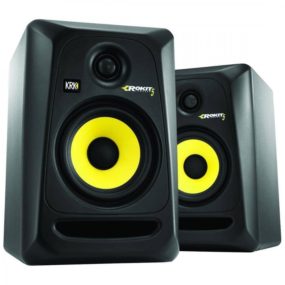 "Jammin NS-5 4"" 2-Way USB Studio Monitor Speakers NS5 |Studio Speakers"