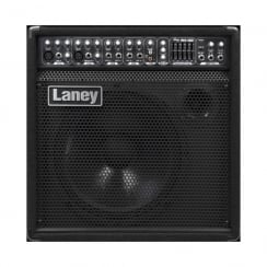 "Laney AH150 AUDIOHUB combo/monitor: 150 watts, 12"" driver+horn, 5 channels+Aux in, 5 band graphic, Delay"