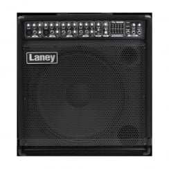 "Laney AH300 AUDIOHUB combo/monitor: 300 watts, 15"" driver+horn, 5 channels+Aux in, 5 band graphic, Digital FX"