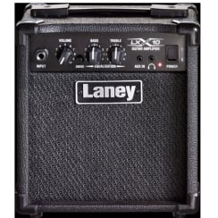 Laney LX10 LX guitar combo, 10 watts, 5in driver, Clean & Drive modes, Headphone & CD in