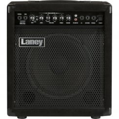 "Laney RB2 RICHTER bass combo/monitor: 30 watts, 10"" driver+horn, Compressor, Phones in & Aux in"