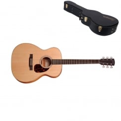 Larrivee OM-03E Electro-Acoustic Guitar Orchestra Natural |Includes Case