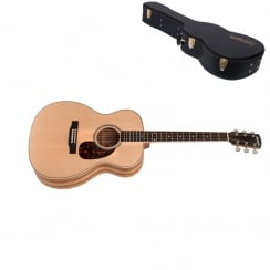 OM-03Z Spruce Orchestra Acoustic Guitar, Natural|Includes Case