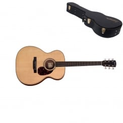 Larrivee OM-09E Electro-Acoustic Guitar Natural |Includes Case