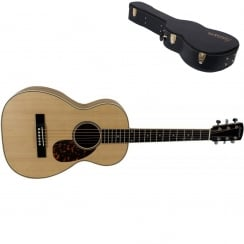 Larrivee P-03Z Zebrano Special Edition Parlour Guitar Natural |Includes Case