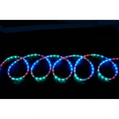 Fluxia LED rope light set 10m - multi-colour