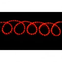 Fluxia LED rope light set 10m - red