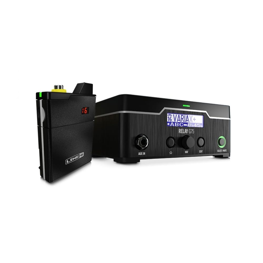 line 6 relay g75 wireless guitar system. Black Bedroom Furniture Sets. Home Design Ideas