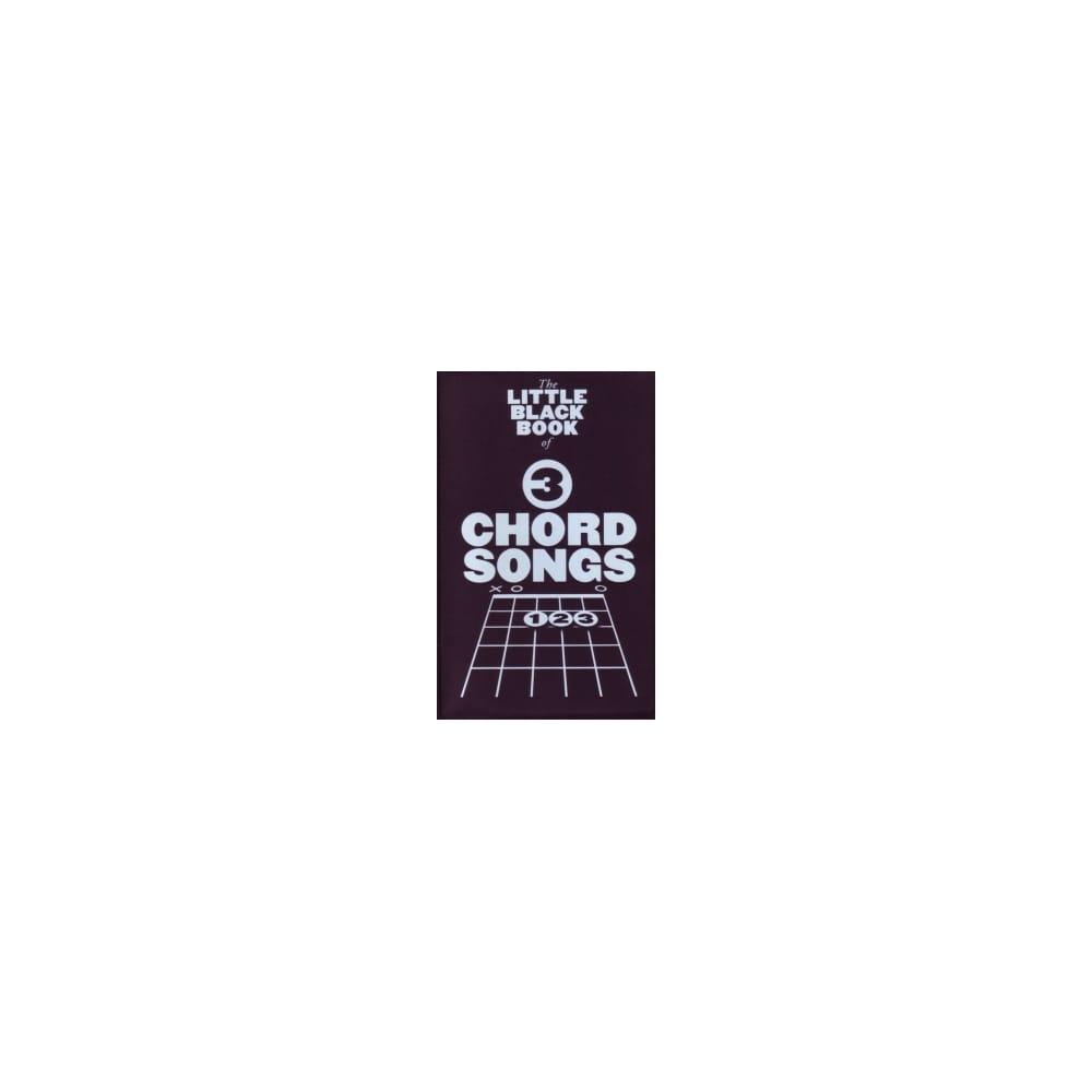 Little Black Book Of 3 Chord Songs Guitar