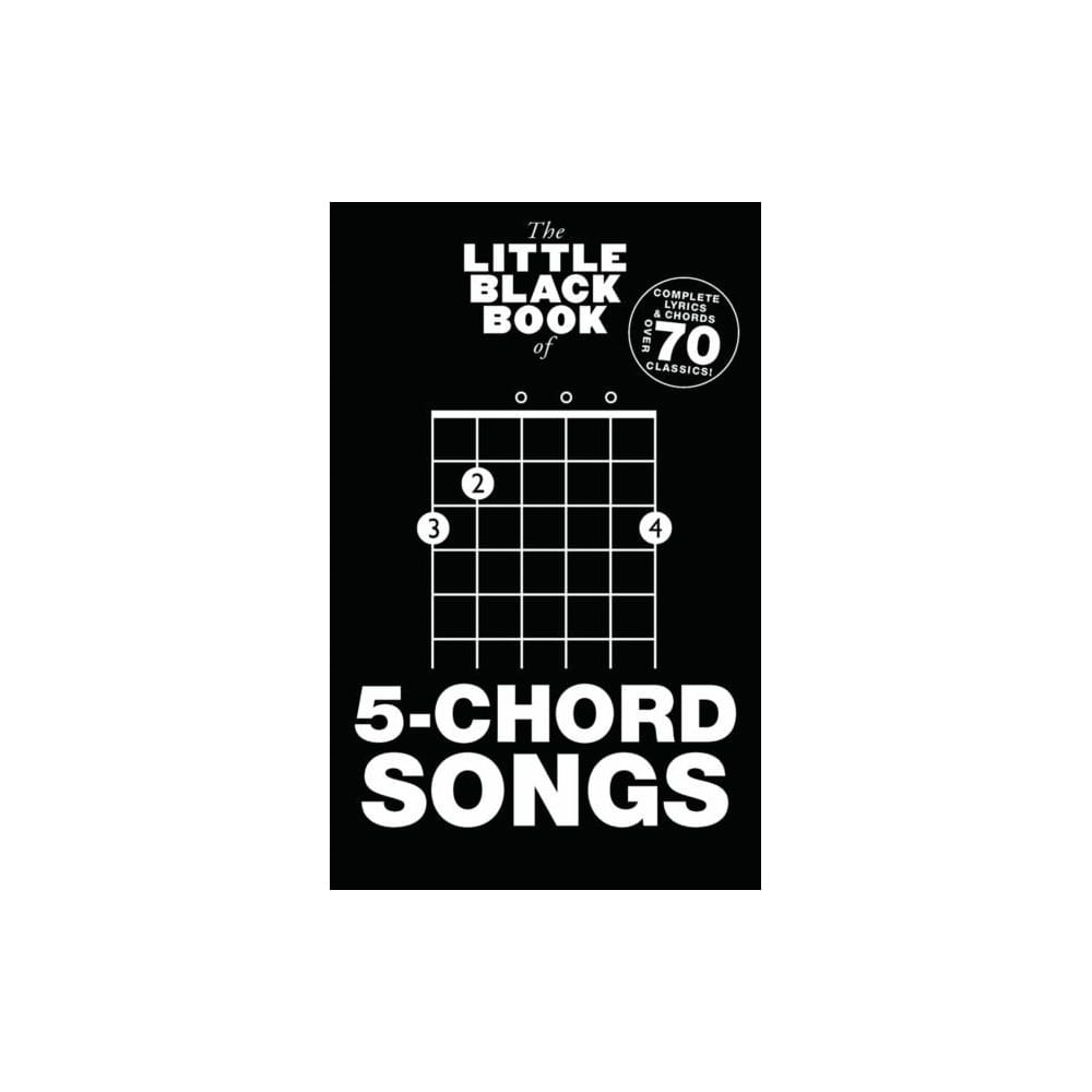 Little Black Book Of 5 Chord Songs Guitar