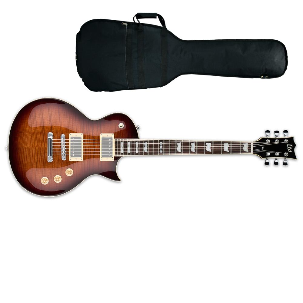 ltd ec 256 electric guitar dark brown sunburst from rimmers music rh rimmersmusic co uk Dean Electric Guitar Wiring Diagrams Kramer Guitar Wiring