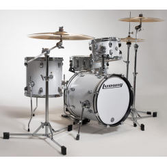 LUDWIG Questlove Breakbeats Kit - White Sparkle