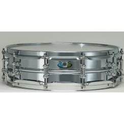 "LUDWIG Supralite 14x4"" Steel Snare Drum"