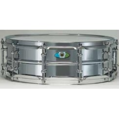 "LUDWIG Supralite 14x5.5"" Steel Snare Drum"