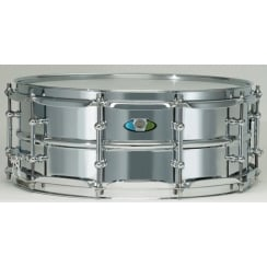 "LUDWIG Supralite 14x6.5"" Steel Snare Drum"