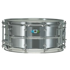 "LUDWIG Supralite 14x8"" Steel Snare Drum"