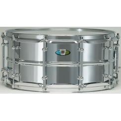 "LUDWIG Supralite 15x5"" Steel Snare Drum"