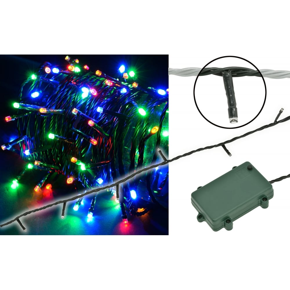 String Lights Music : 160 LED Battery Powered String MC from Rimmers Music