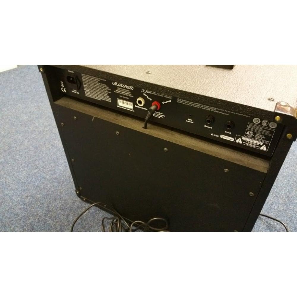 marshall mg50fx used guitar amplifier