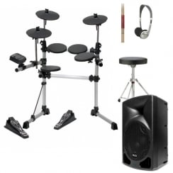 Medeli DD402 Digital Drum Kit | Speaker Package