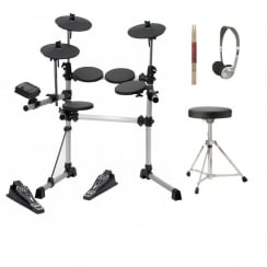 Medeli DD402 Digital Drum Kit | Stool, Sticks & Headphones