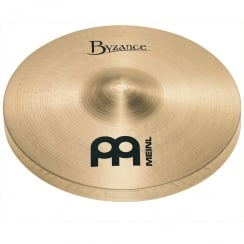 Meinl Byzance Traditional 10 inch Mini Hat Cymbals Pair