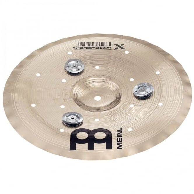 Meinl Generation X 14 inch Jingle Filter China Cymbal