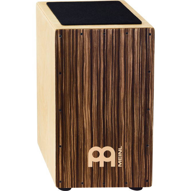 Meinl Striped Umber Traditional String Cajon