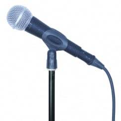 MicFx Corded Microphone Sleeve Laser cut Range (Colour Black)