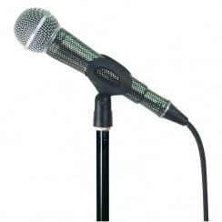 MicFx Corded Microphone Sleeve Laser cut Range (Colour Silver)