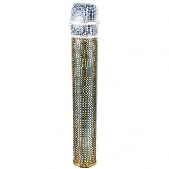 MicFx Wireless Microphone Sleeve Hologram Range (Design Vegas Lights)