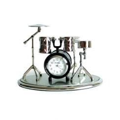 My Music Gifts Miniature Clock Drum Set (on a base)