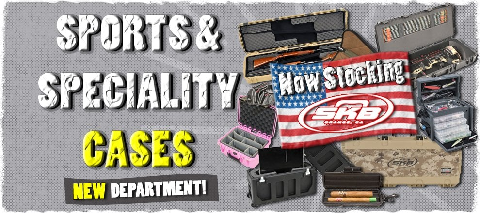 Sports & Speciality Cases from SKB at Rocking Rooster