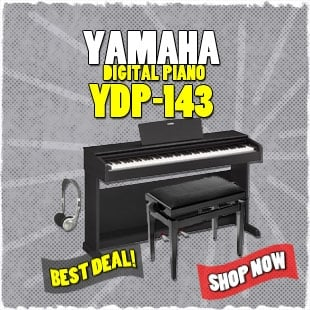 Yamaha YDP 143 Lower Promo