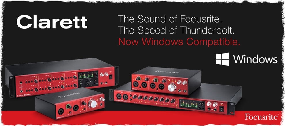 Focusrite Clarett Update