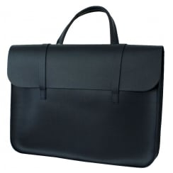 GlenRoyal Leather Music Case Leather - Navy Blue | MC1N
