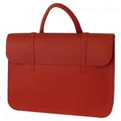 GlenRoyal Leather Music Case Leather - Red | MC1R