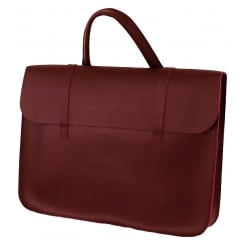 GlenRoyal Leather Music Case Leather - Wine | MC1W