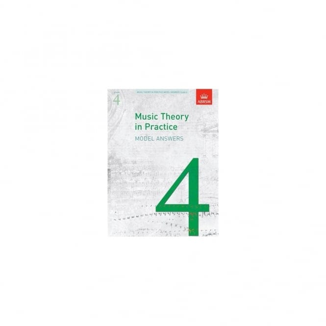 Music Theory In Practice Answers Grade 4 Abrsm